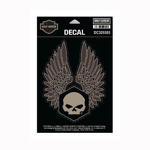 DECAL SKULL/AILES