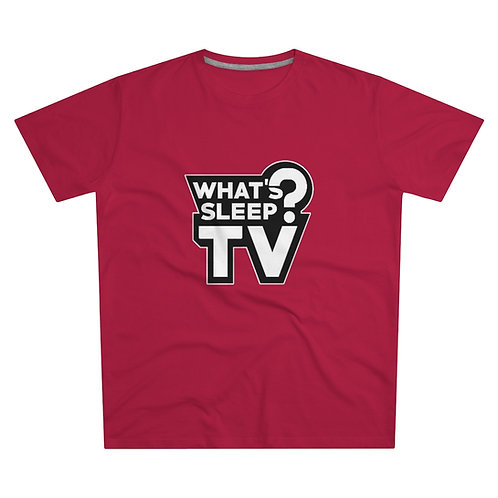 Plain What's Sleep? TV Tee