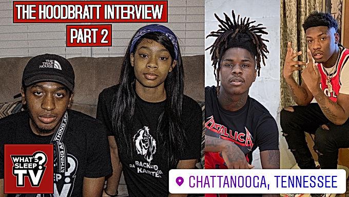 Hood Bratt On Creating Slatt Zy's Instagram Account & Her Relationship With Hardaway 1k