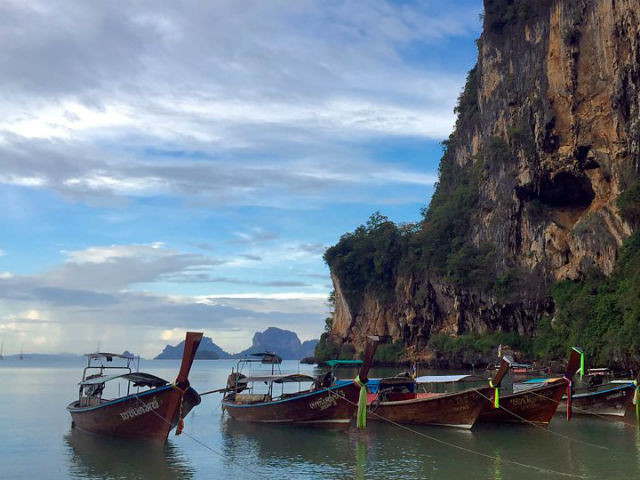 Tonsai Beach, Krabi, South Thailand