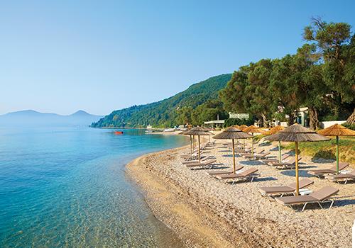 Spectacular views in Corfu
