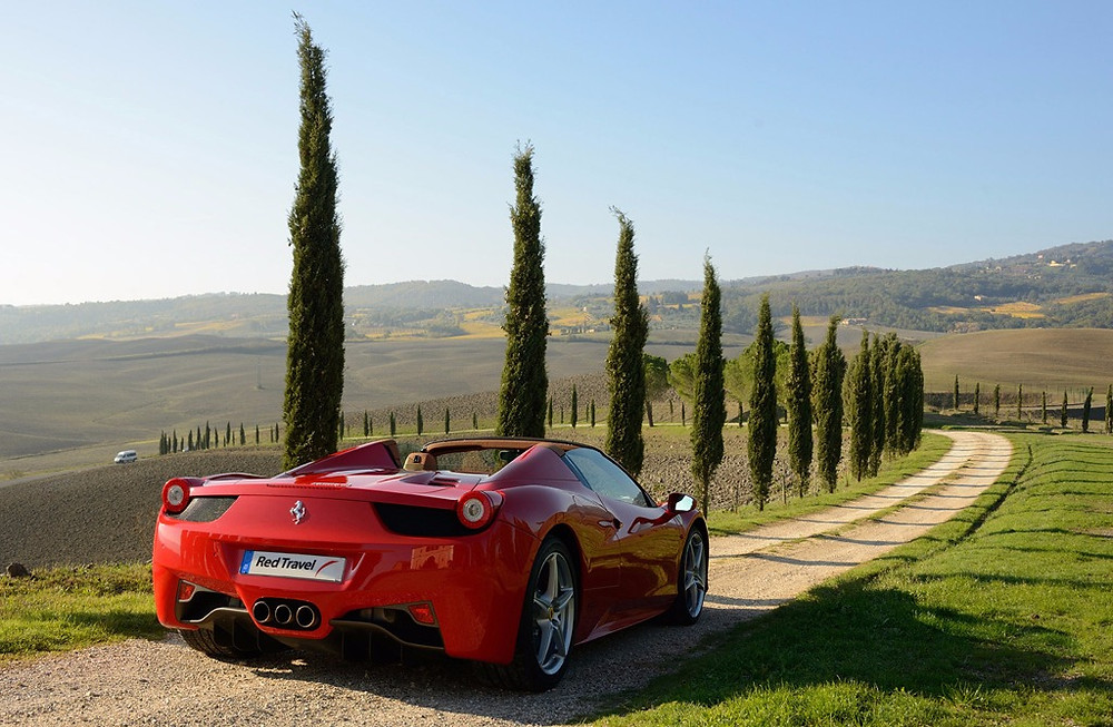 The Ferrari self-drive experience