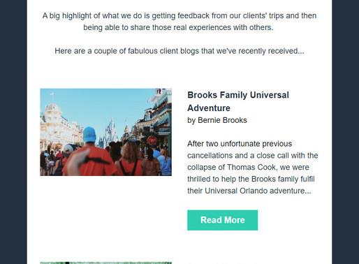Abbotts Travel Newsletter - Client Adventures