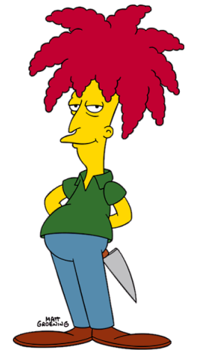 Sideshow Bob is copyright Matt Groening