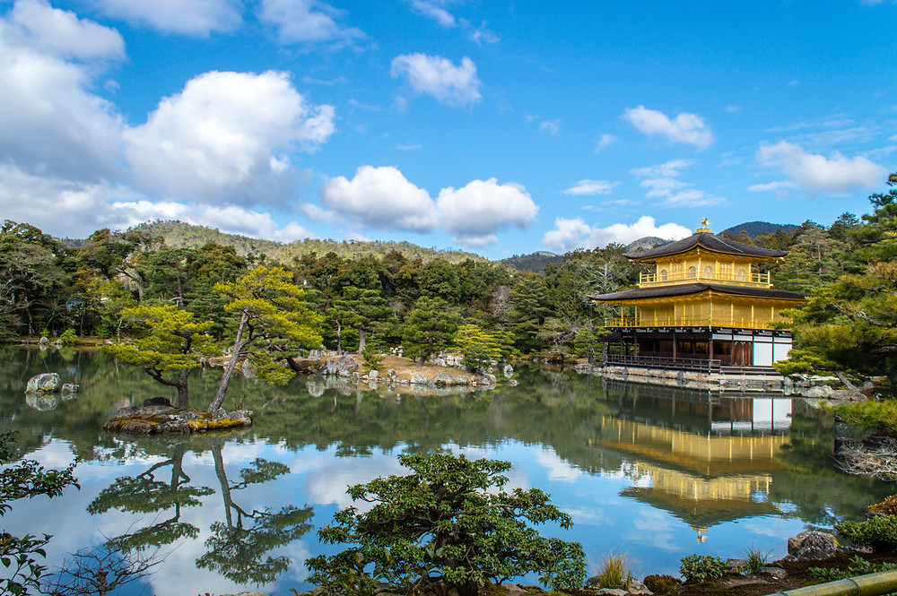 Kinkaku-ji Temple, Kyoto, Japan