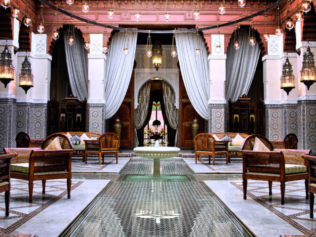 The splendour of Royal Mansour Marrakech