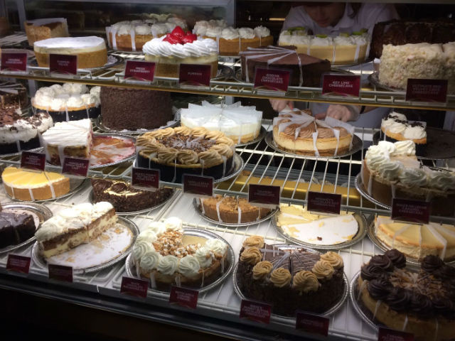Sugary treats on tap at Cheesecake Factory