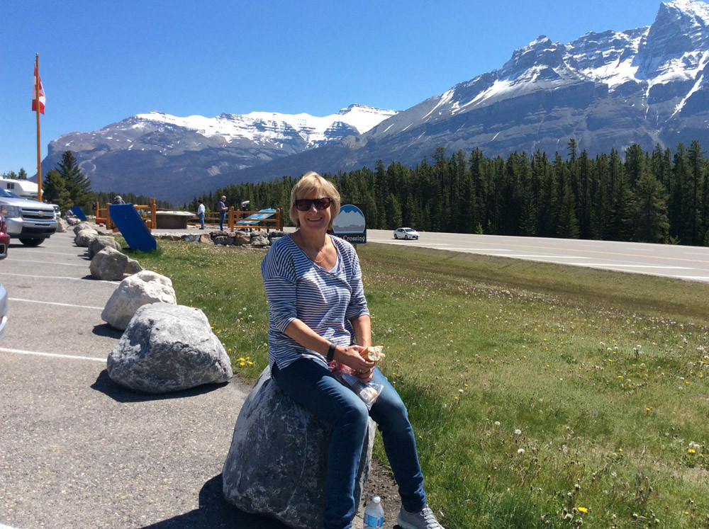 Saskatchewan Crossing on Icefields Parkway