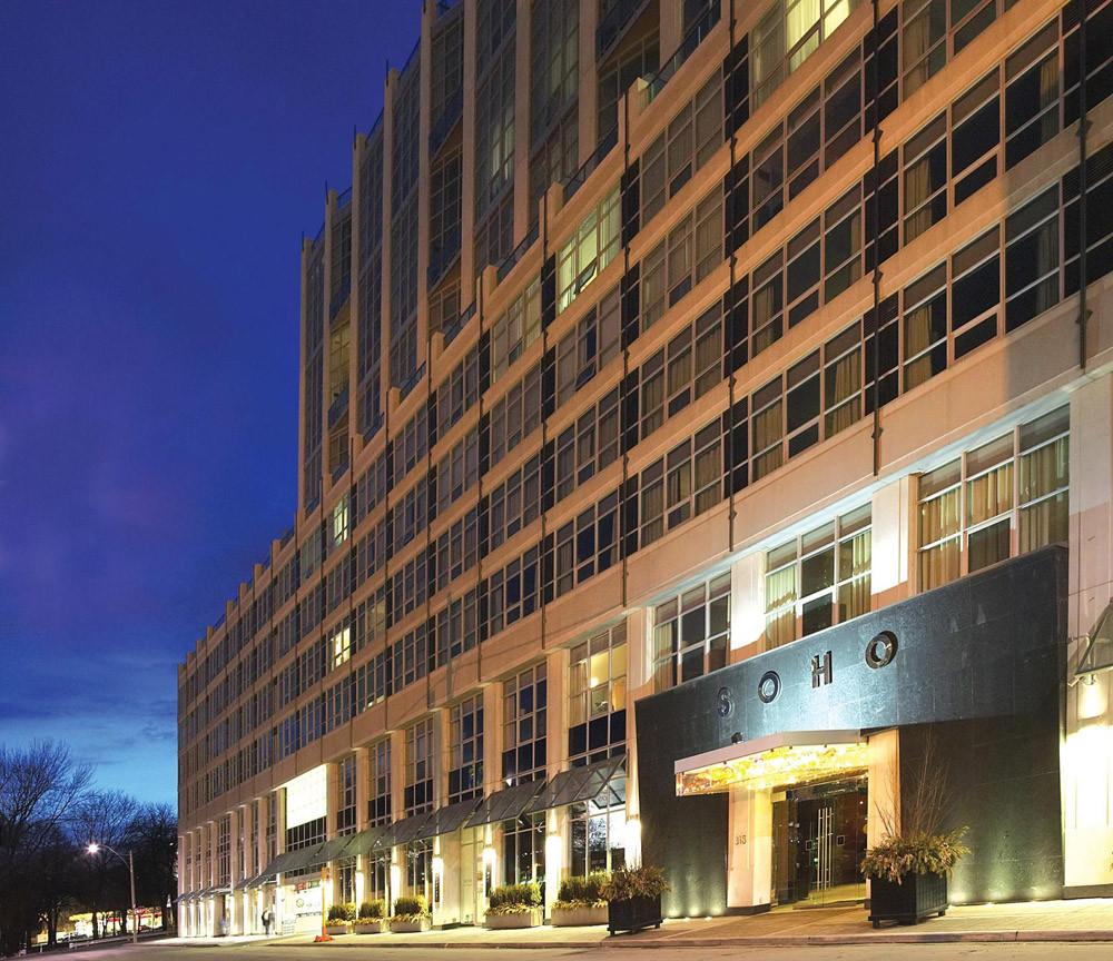 SoHo Metropolitan Hotel, Toronto