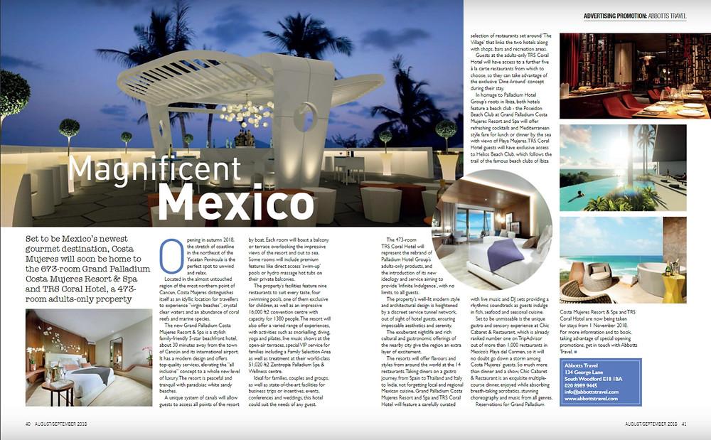 Magnificent Mexico, E1iFE magazine