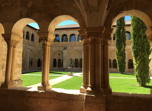 Client blog: Marvelous Madrid and a converted 12th Century Monastery