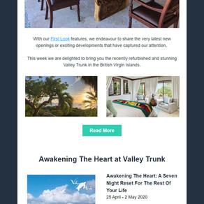 Abbotts Travel Newsletter - First Look at Valley Trunk