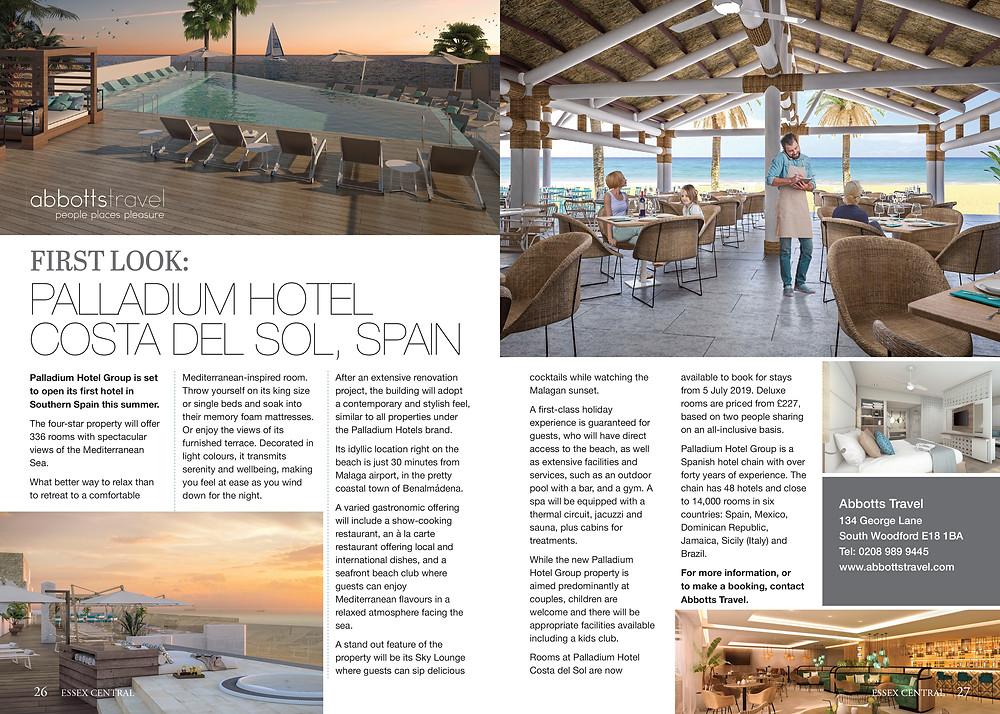 First Look: Palladium Hotel, Costa Del Sol, Spain