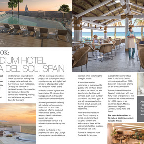 First Look: Palladium Hotel, Costa Del Sol, Essex Central Magazine - June/ July 2019