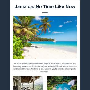 Abbotts Travel Newsletter - Jamaica: No Time Like Now