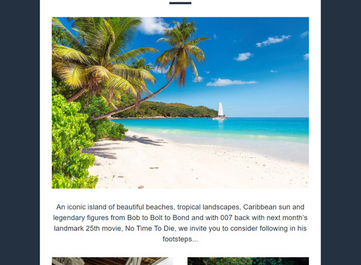 Abbotts Travel Newsletter - Jamaica: No Time Like Now