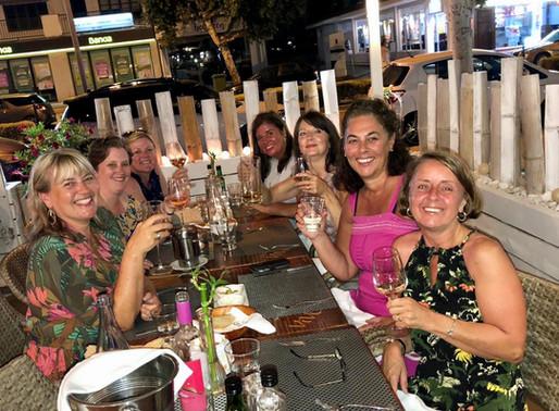 """A fabulous weekend in Santa Ponsa. Thank you Julie!"" - Katie"