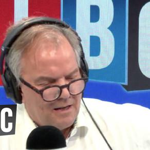 Julian Abbott interviewed by Matt Frei on LBC