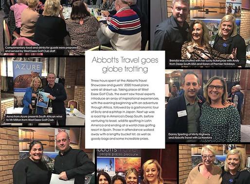 Abbotts Travel goes globe trotting, West Essex Life - December 2019