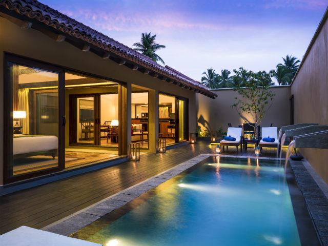Anantara Kalutara: one bedroom property with pool.