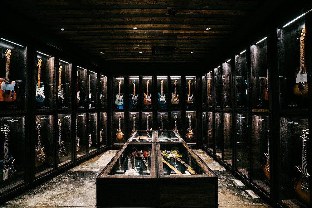 Songbirds Guitar Museum in Chattanooga