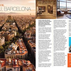 First Look: Nobu, Barcelona, Essex Central Magazine - Nov/ Dec 2019
