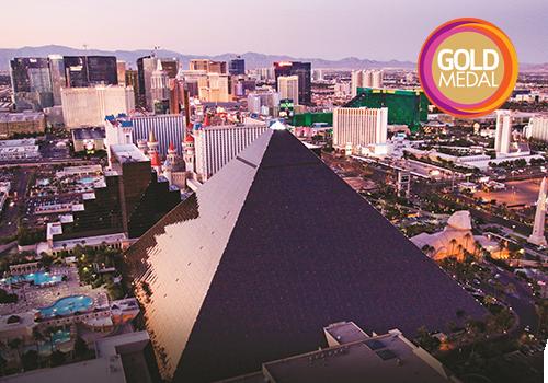 Bright lights of Las Vegas