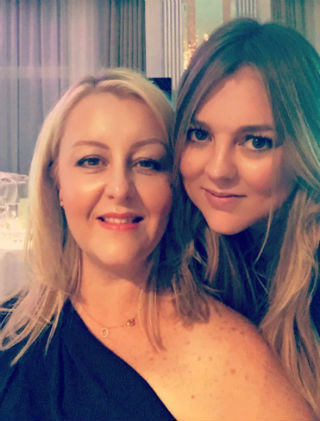 Sophie and Carly at Caribtours' Gala Dinner 2016