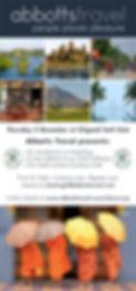 Abbotts Travel showcase flyer