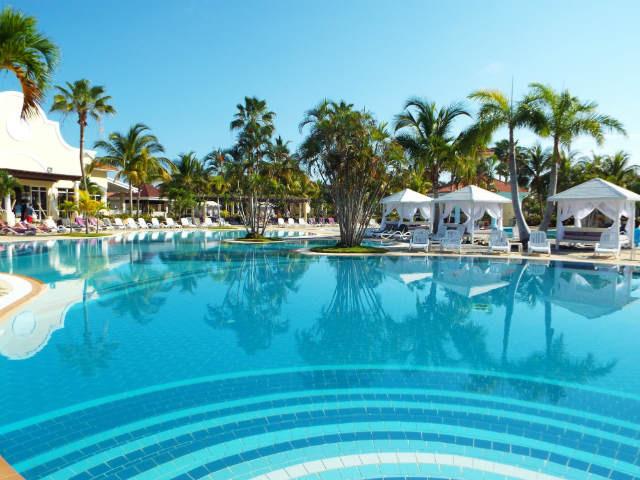 The pool at Paradisus Princesa del Mar, Varadero