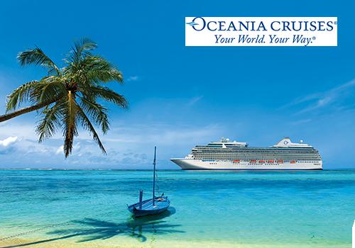 Ultimate Caribbean cruise plus flight upgrade
