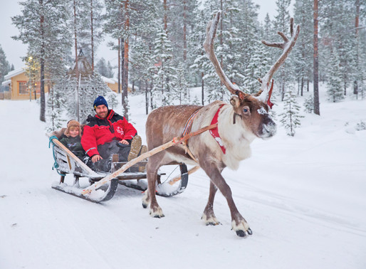 Experience of the Month: Santa's Lapland