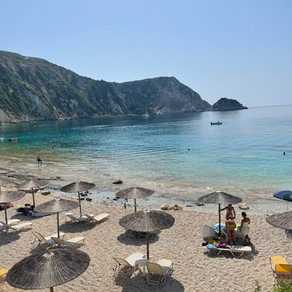 Client Blog: Anna and family in Kefalonia, Greece