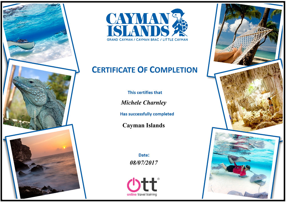 Cayman Islands specialist online training course