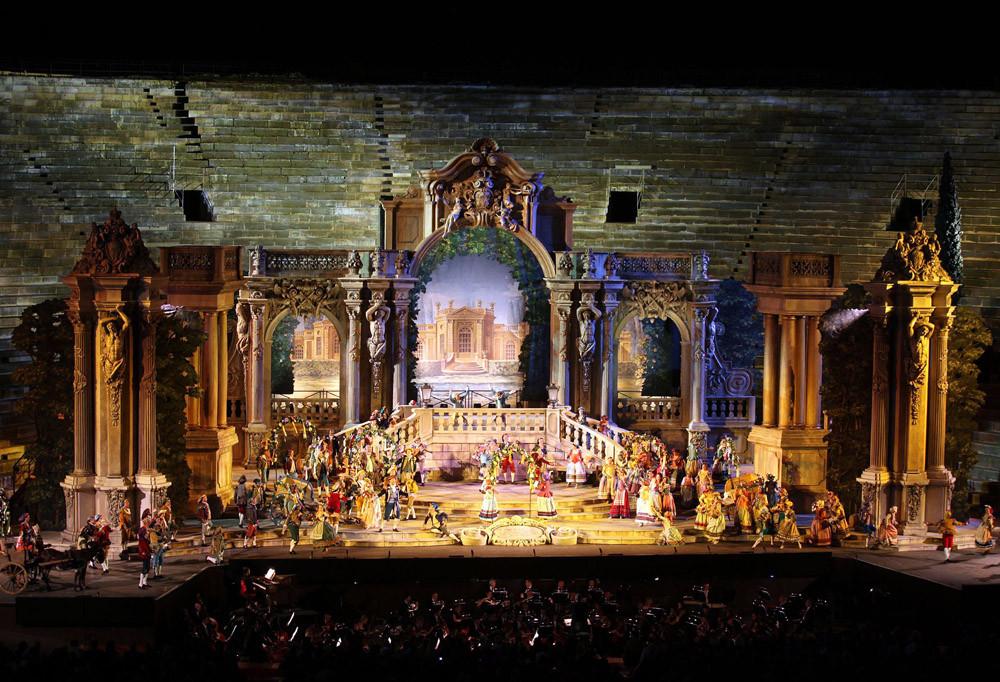 Opera at the Arena di Verona (Photo courtesy of Fondazione Arena di Verona)