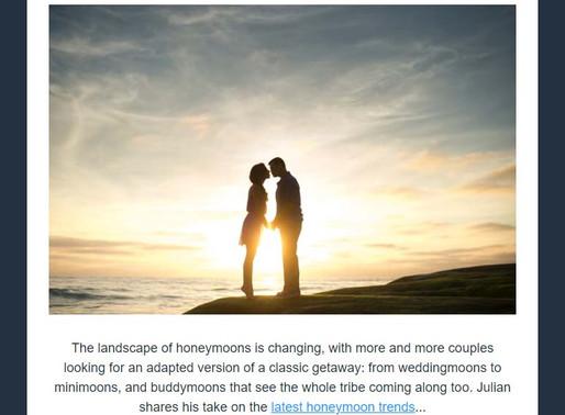 Abbotts Travel Newsletter - The Latest Honeymoon Trends