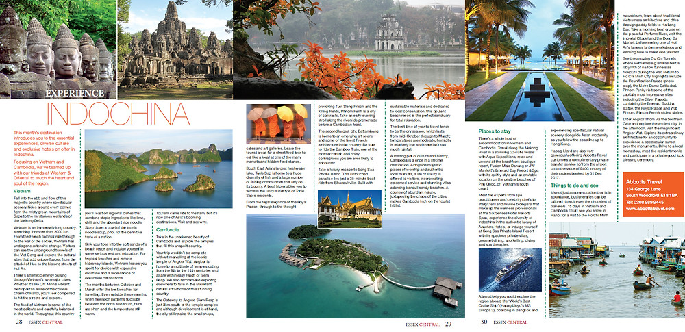 Caribbean, Essex Central Magazine