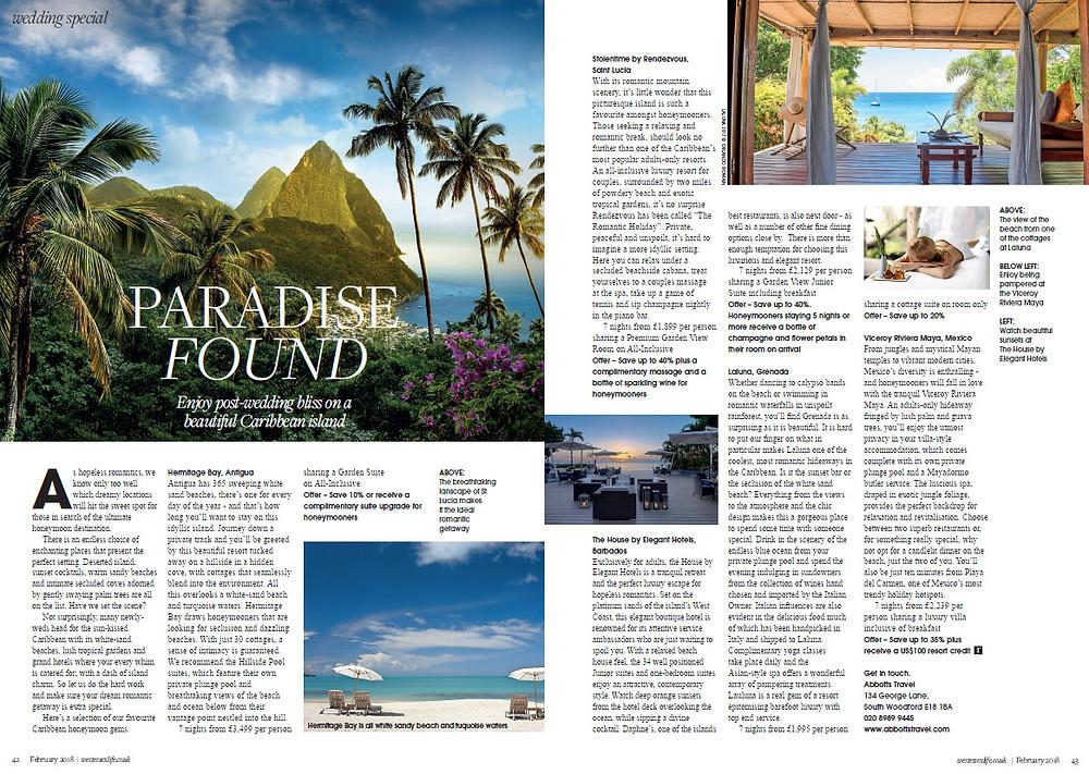 Paradise Found, West Essex Life