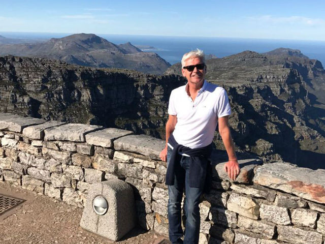 Phillip Schofield's holiday snaps