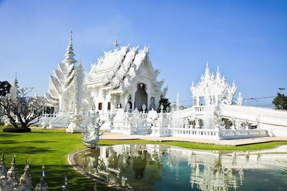Rong Khun temple, Chiang Rai province