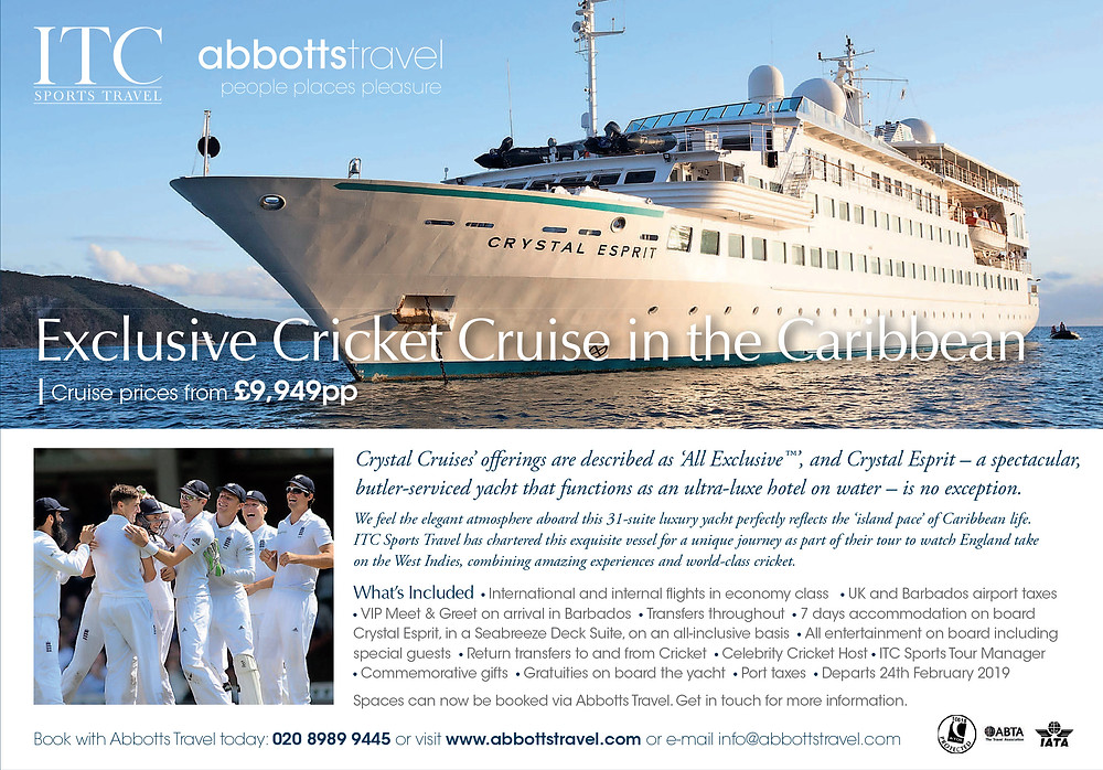Exclusive Cricket Cruise in the Caribbean
