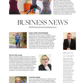 Business News, West Essex Life - August 2019