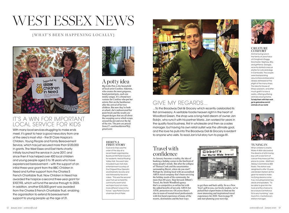 West Essex News, West Essex Life