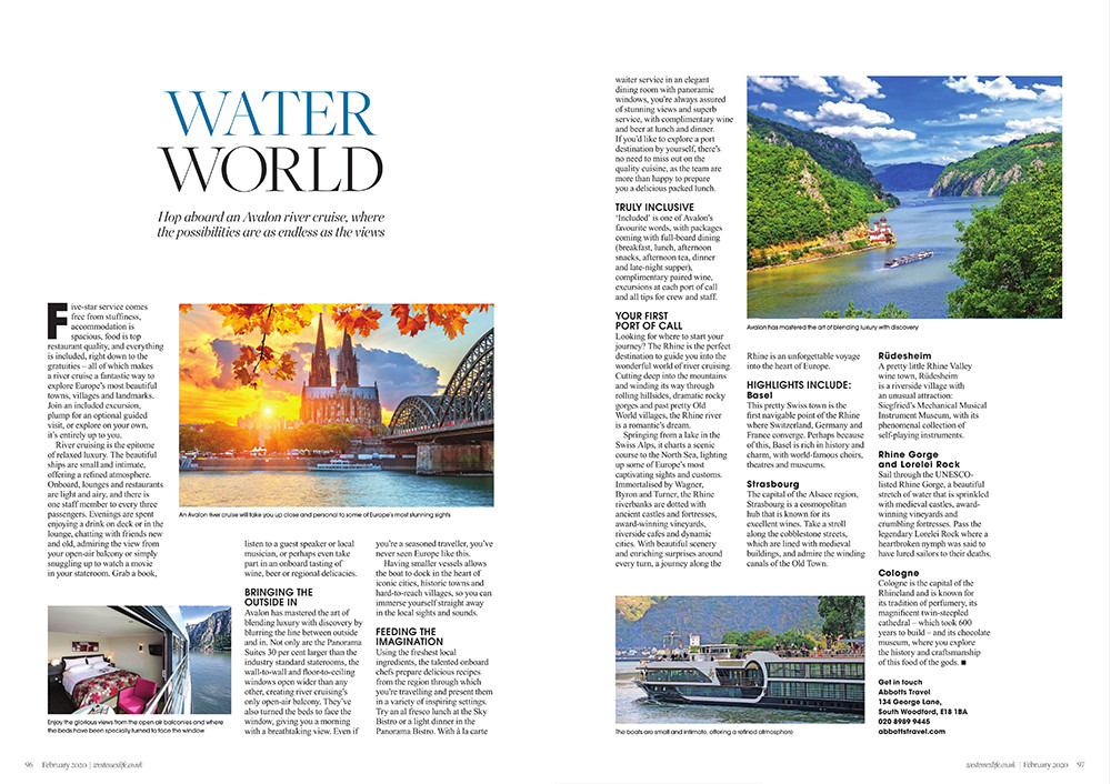 Water World, West Essex Life
