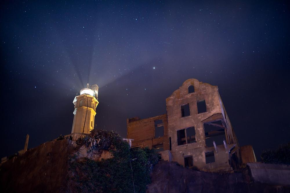 Visit Alcatraz at night