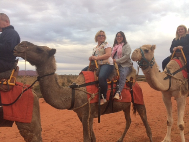Julie's research trip to Australia