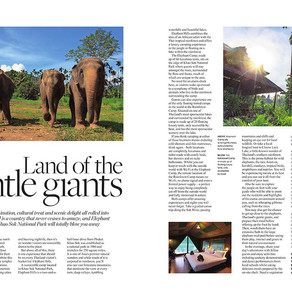 Thailand - Land of the Gentle Giants, West Essex Life - December 2019