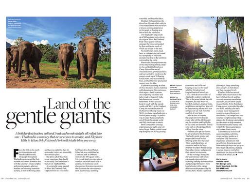 Thailand - Land of the Gentle Giants, West Essex Life - December 2019