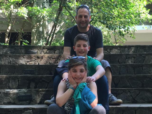 The Sperlings: Dan, Jet and Matty