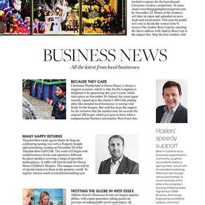 Business News, West Essex Life - November 2019